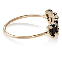Loren Stewart Women's Onyx Thin Band Ring No Color