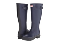 Hunter Original Two Tone Tall Midnight Men's Rain Boots Navy