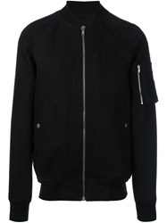 Rick Owens 'Flight' Bomber Jacket Black