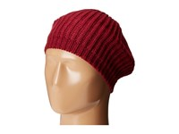 San Diego Hat Company Knh3431 Knit Beret With Ribbed Opening Wine Berets Burgundy