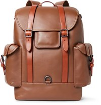 Coach Gotham Leather Backpack Brown