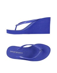 Emporio Armani Swimwear Footwear Thong Sandals Women