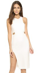 Mason By Michelle Mason Bandeau Dress Ivory