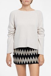 Helmut Lang Women S Cashmere And Wool Top Boutique1 Beige