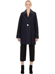 Edun Wool And Cashmere Blend Peacoat