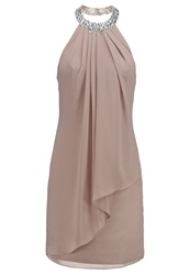 Laona Cocktail Dress Party Dress Cream Taupe