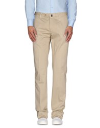 Vigano' Trousers Casual Trousers Men Beige