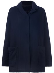 Rundholz Single Breasted Coat Blue