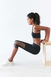 Without Walls Splice Knee Cropped Legging Black