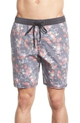 Men's Ezekiel 'Slayter' Floral Print Swim Trunks