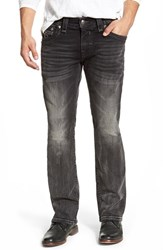 Men's Rock Revival 'Noel' Straight Leg Jeans Charcoal Black