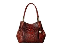Brahmin Judith Pecan Handbags Brown