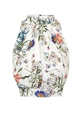 Love Floral High Neck Top By White