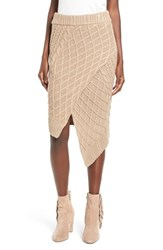 Finders Keepers The Label Women's Odom Cable Knit Skirt