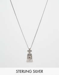 Unif Helter Skelter X Bad Acid White Bronze Worth It Necklace Silver