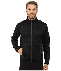 Spyder Bandit Full Zip Fleece Top Black Polar Men's Fleece Brown