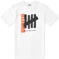 Undefeated Disperse Tee White