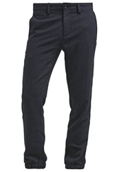 Banana Republic Trousers Navy Dark Blue