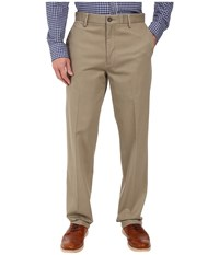 Dockers Signature Stretch Classic Flat Front Timberwolf Men's Casual Pants Multi