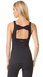 Beyond Yoga Kate Spade New York Cinched Bow Tank Black