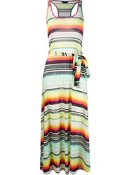 Lygia And Nanny Striped Maxi Dress Yellow
