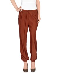 Magazzini Del Sale Trousers Casual Trousers Women Brown