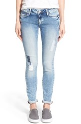 Women's Mavi Jeans 'Alexa' Knit Skinny Jeans Patched Out Sporty
