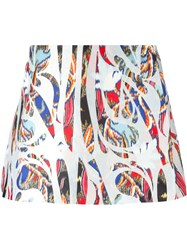 Antonio Berardi Printed Skirt Multicolour