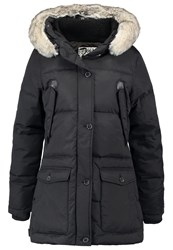 Schott Nyc Camille Down Coat Black