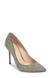 Imagine By Vince Camuto Women's 'Olson' Crystal Embellished Pump Storm Grey Satin