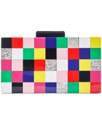 Inc International Concepts Tile Box Clutch Only At Macy's Multi