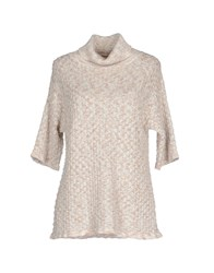 List Knitwear Turtlenecks Women Ivory