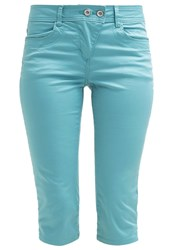 Tom Tailor Trousers Pool Turquoise