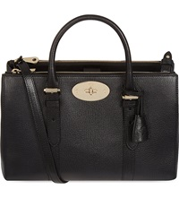 Mulberry Bayswater Small Double Zip Tote Black