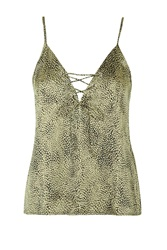 Don't Cross Me Camisole By Wyldr Gold