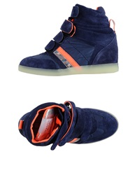 Serafini High Tops And Trainers Dark Blue