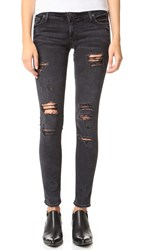 True Religion Casey Skinny Jeans Smoke