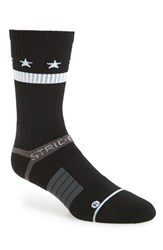 Strideline Men's 'Black Star' Strapped Fit 2.0 Socks