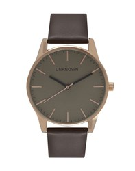 Unknown The Classic Rose Gold Watch Grey