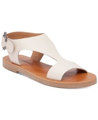 Lucky Brand Devyn Flat Slingback Sandals Women's Shoes Linen