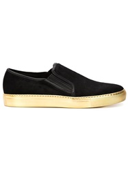 Balmain Slip On Sneakers Black