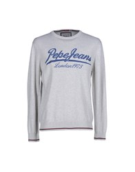 Pepe Jeans Knitwear Jumpers Men Light Grey