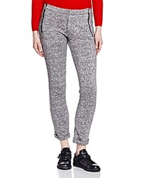 The Kooples Marled Fleece Sweatpants Gray