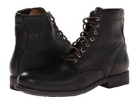 Frye Tyler Lace Up Black Soft Vintage Leather Men's Lace Up Boots