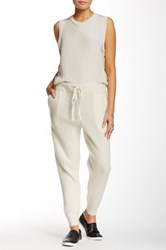 Free People Ribbed Wooley Jogger White