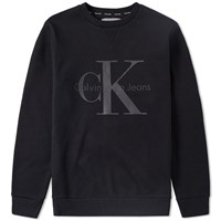Calvin Klein Ck Reissue Crew Sweat Black