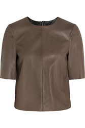 Muubaa Orano Leather Top