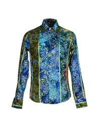 Yoon Shirts Shirts Men Blue