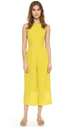 Whistles Cecilia Jumpsuit Yellow