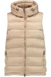 Metallic Padded Shell Hooded Gilet
